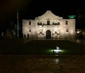 AlamoAtNight