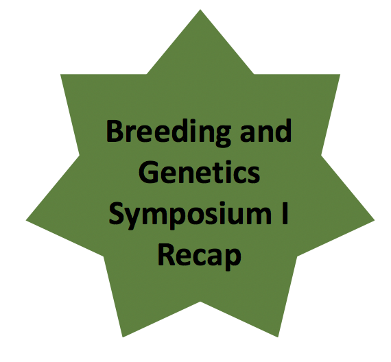Breeding and Genetics Symposium I