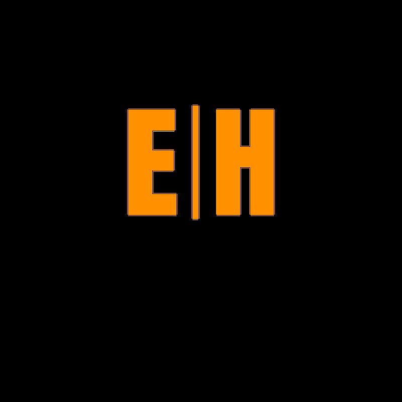 Extension Horses Logo, black