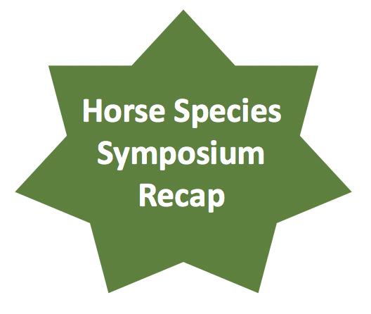 Horse Species symposium