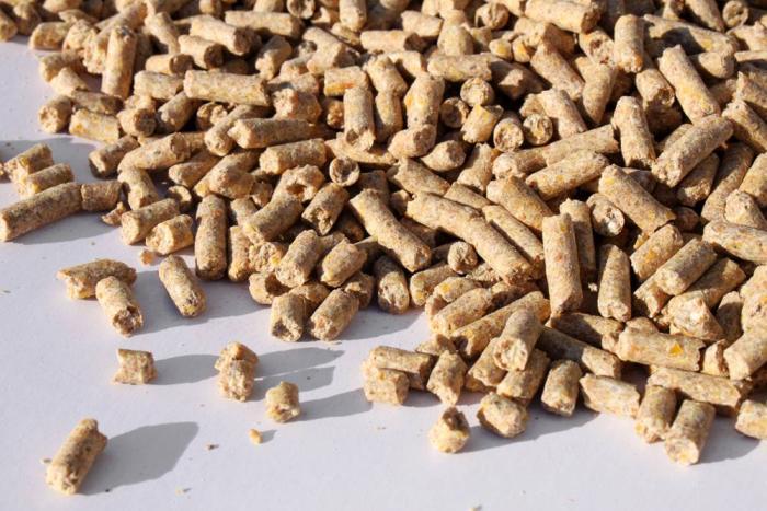 pelleted feed