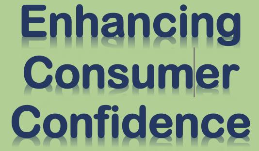 Enhancing Consumer Confidence