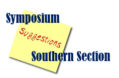 southern symposium suggestions