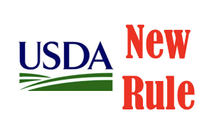 USDA NEW RULE